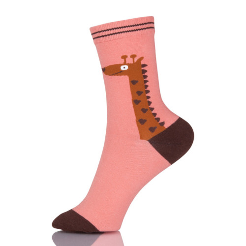 Colorful Cartoon Fashion Cute Soft Thin Novelty Cotton Women Socks