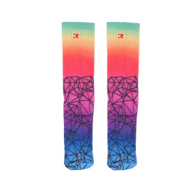 Custom Printed Bamboo Paw Print Socks Wholesale