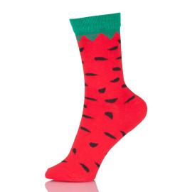 Watermelon Cotton Socks Women High Quality Casual Style Fashion Jacquard Socks