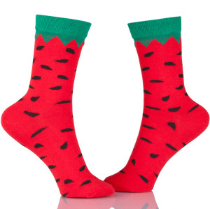 Watermelon Cotton Socks Women High Quality Casual Style Fashion Jacquard Socks