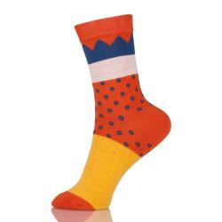 Cute Creative Fruit Funny Socks Novelty Art Printing Kawaii Socks Women Lovely Socks