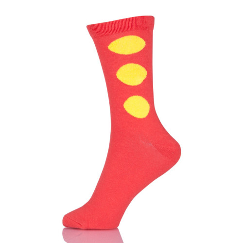 New Cute Fashion Novelty Funny Women Sock Autumn Comfortable Breathable Red Socks