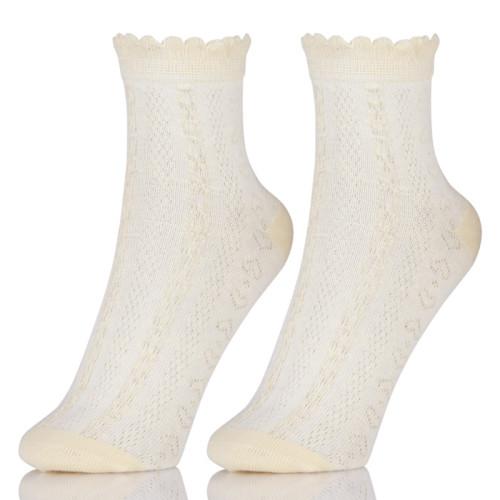 Short Socks Art Women Fashion White Cotton Cocks Hipster Cartoon Ankle Socks