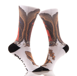 Custom Fashion Colorful Sublimation Print Socks