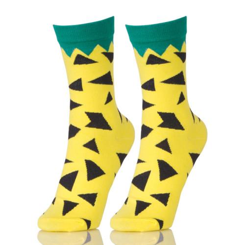 Woman 2019 New Crew Socks Cotton Color Novelty Women Fashion Cute Casual Socks