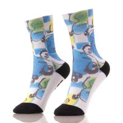 Custom Athletic 360 Sublimation Digital Print Socks