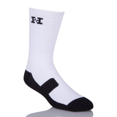 Custom Athletic Sublimated Hockey Blank White Sublimation Socks