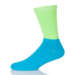 Sport Novelty Soft Blue Green Adjustable Elastic Cotton Cool Comfortable Outdoor Socks