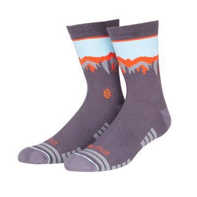 Men Custom Colorful Combed Cotton Socks Gift Socks
