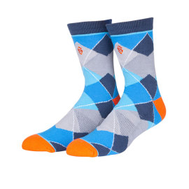 Wholesale Custom Fashion Design Colorful Thigh Knee Knitting Sock
