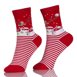 Women's Socks Lady Christmas Holiday Elite Socks Cute Wool 3D Stocking