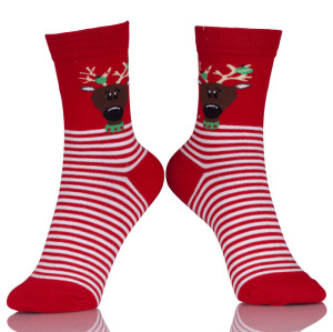 Women's Socks Lady Christmas Holiday Elite Socks Cute Wool 3D Stocking