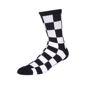 Factory Price Wholesale Anti-slip Outdoor Sports Custom Black And White Socks