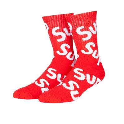 Crazy Socks Fashion Adult Skateboard Hip Hop Cotton Socks For Man