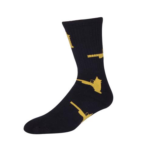 High Quality Fashion Compression Man Custom Socks Cotton Tube Sport Socks By Factory