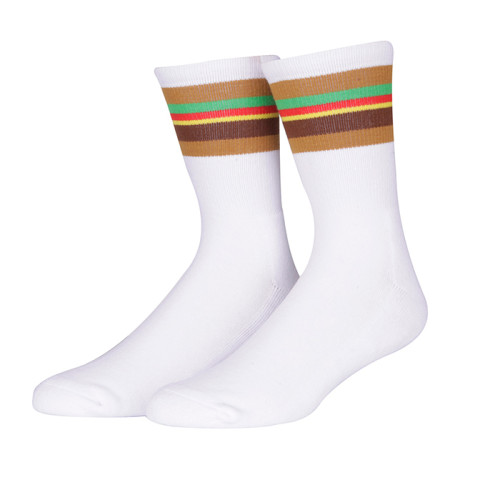 Custom 100 Cotton Fancy Dress Men Fun Socks With Bulk Wholesale