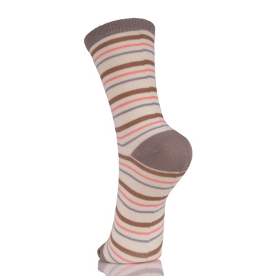 Awesome Ladies Striped Dress Socks