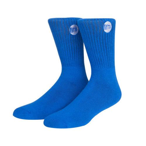 Mens Blue Dress Crew Socks ,Colorful Funky Fashion Socks Men Top Quality Compression Socks