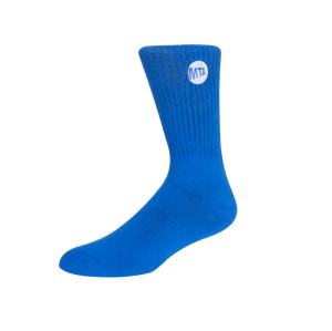 Mens Blue Dress Crew Socks ,Colorful Funky Fashion Socks Men Top Quality Compression Socks