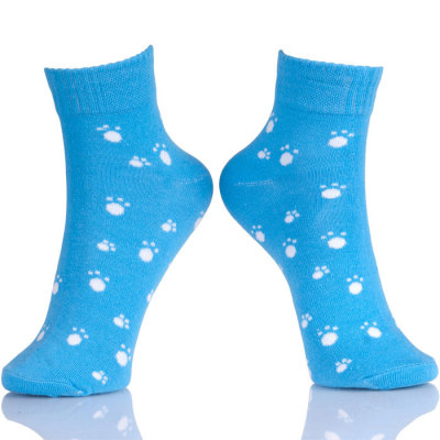 Cute Animal Dog Paw Printed Socks