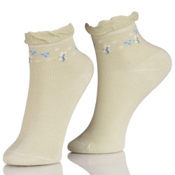 Cute Ankle Fancy Design Socks For Ladies