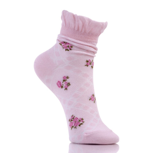 Cute Ankle Cotton Frilly Lace Boot Socks Womens