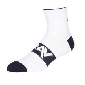 Zhuji Fashion 100% Cotton Novelty Tube White Athletic Anti Slip Cycling Bike Socks