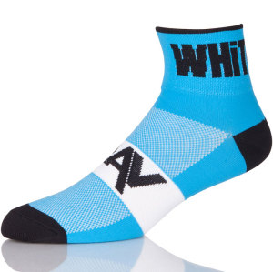 With Bikes On Blue Cycling Socks Women