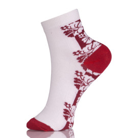 Womens Low Cut Ankle White Short Socks