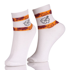 Compression Short Ankle Boat Sock Women