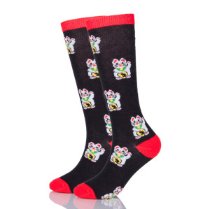 Cartoon Socks Wholesale Japanese Wool Socks Japan Lucky Cat