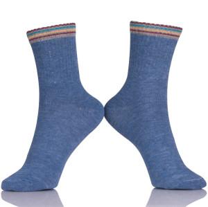 Anti-Foul Black Combed Cotton Socks Custom