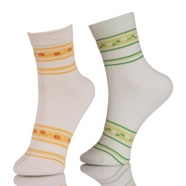Wholesale Custom Anti-bacterial Cotton Crew Socks