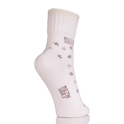 Women Cute Cotton Socks With Flowers