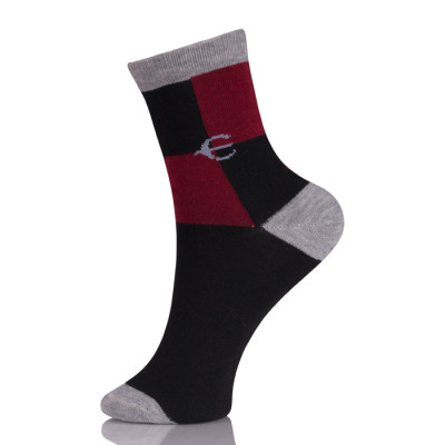 Women Thin Anti Slip Gray Sock Athletic Sport