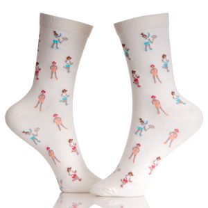 Fashion Quality Secret Teen Girl Tube Socks