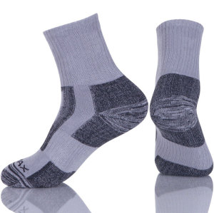 Running Hiking Athletic Cushion Socks  Sport Cushioned Mens Compression Socks