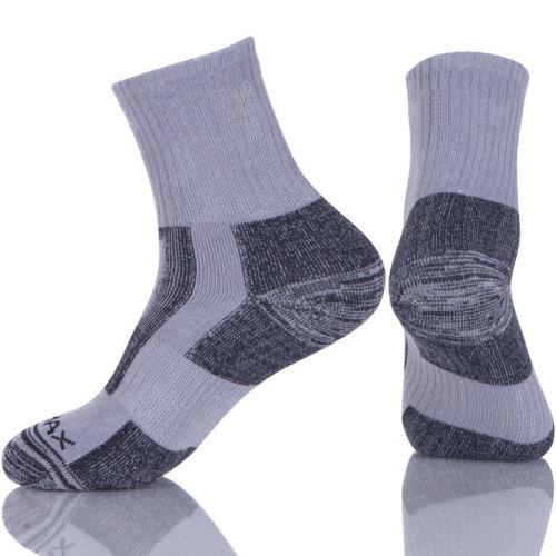 Running Hiking Athletic Cushion Socks  Sport Cushioned Mens Compression Socks