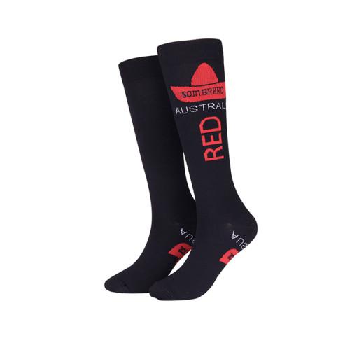 Custom High Quality Knee High Running Sport Promotion Compression Socks