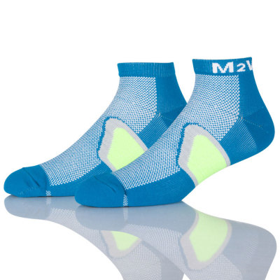 Mens Low Cut Sports Crew Socks Non Slip Performance Comfort