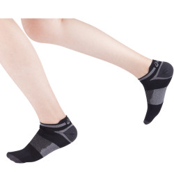 Athletic Cushion Single Tab Running Socks No Show Sport Toe Socks