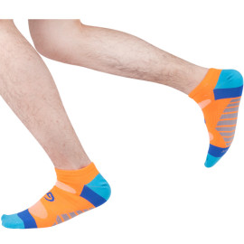Low Cut Athletic Socks Custom For Men , Ankle Socks For Running