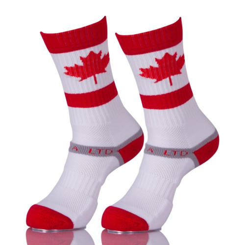 100 Cotton Custom Antibacterial Athletic Winter Ski Warm Skate Socks Canada