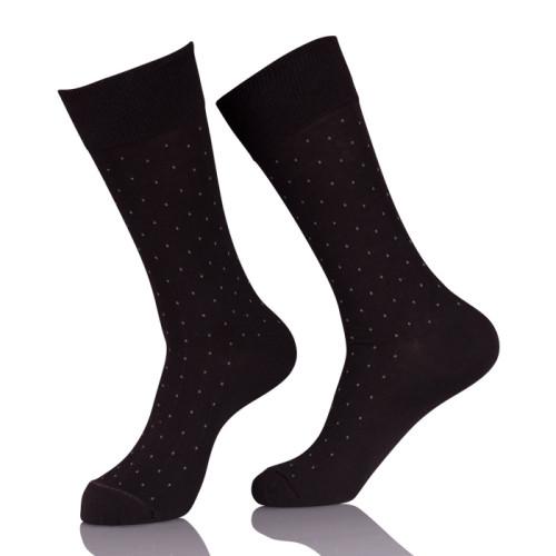 Mens Business Black Socks Men Custom