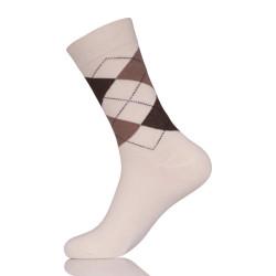 Custom White Conti Sock Knitting