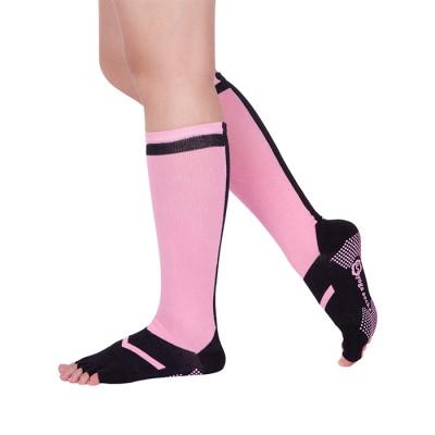 Custom Anti Slip Pilates 5 Toe Socks Women