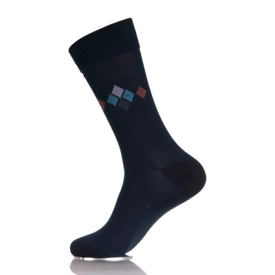 Mens 100 Cotton Socks Black
