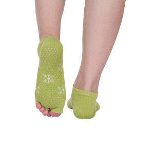 Yoga Pilates Grip Toe Socks For Yoga Women