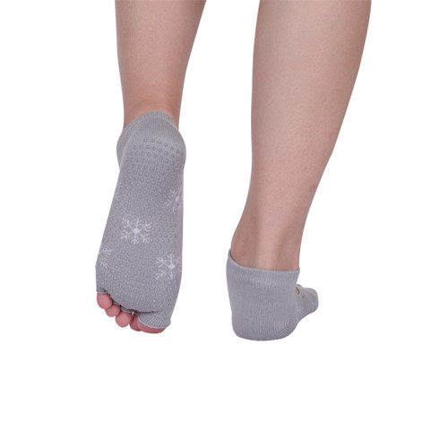 Yoga Pilates Grip Toe Socks For Yoga Women