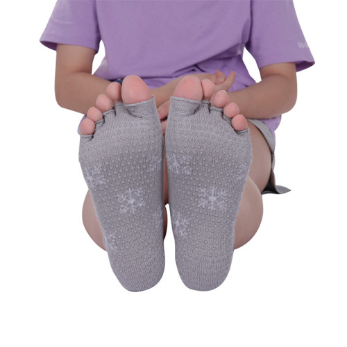 Open Toe Non Slip Pilates Yoga Ankle Socks